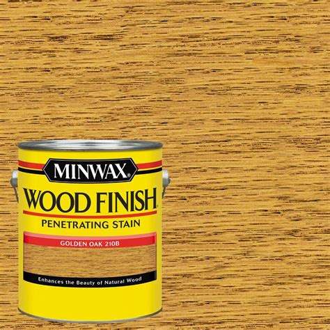 minwax 1 gal wood finish golden oak based interior