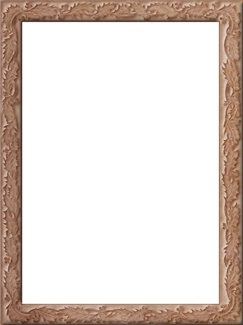 Rectangle by Presentation Photo Frames Tall Fancy Rectangle Style 37