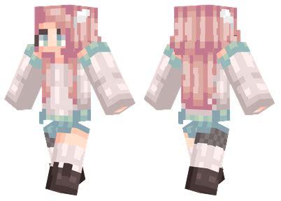 Black Panda Pink Mc pink hair minecraft skins