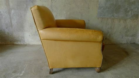 vintage leather armchair 1940 for sale at pamono