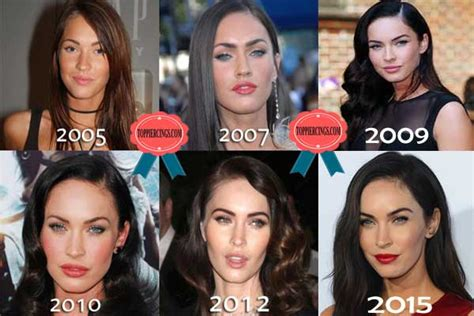 megan fox tattoo removal before and after megan fox plastic surgery before and after megan fox