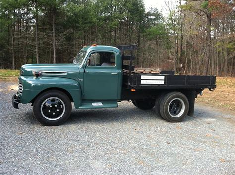 flat bed ford auctions 1949 ford f5 flatbed pickup owls head