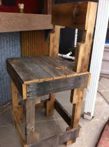 Rustic Bar Stool Plans Items Similar To Rustic Bar Stools Or Kitchen Island