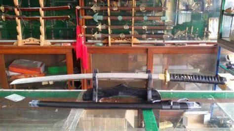 Pedang Samurai Katana Shinken Black Gold Hq Steel pabrik pedang katana samurai senjata silat jual buat export katana black