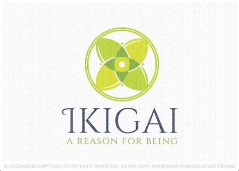 design concept meaning logo for sale japanese ikigai logo symbol design concept