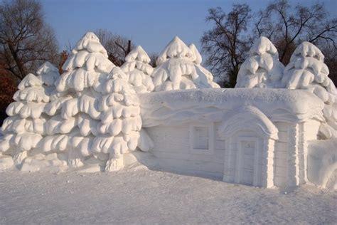 house snow lovely snow house photo