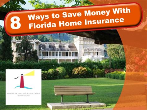 8 Ways to Save Money With Florida Home Insurance