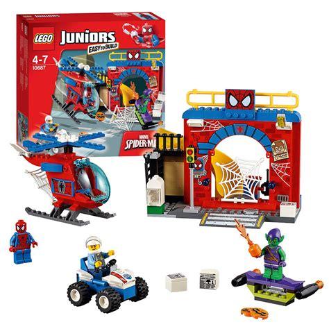 lego juniors 10687 spider hideout kopen lobbes nl