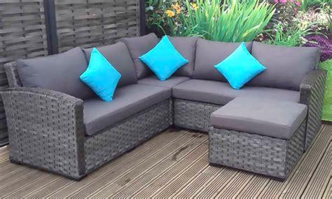 grace rattan corner sofa groupon