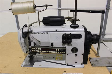 Sewing Car Upholstery by Durkopp Adler 550 12 23 Industrial Sewing Machine Car