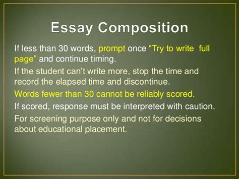 Wiat Scoring Essay by Wiat Iii Scoring Assistant Essay
