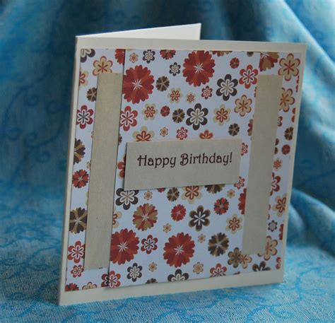 Birthday Handmade Card - birthday card handmade cards