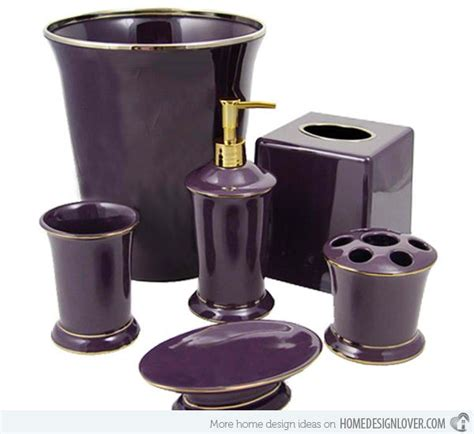 Aubergine Bathroom Accessories Best 25 Purple Bathroom Accessories Ideas On Classic Purple Bathrooms Eggplant