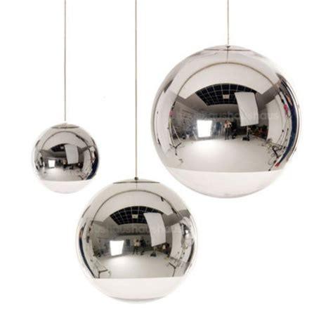 disco ball light fixture modern tom dixon mirror glass ball pendant lights