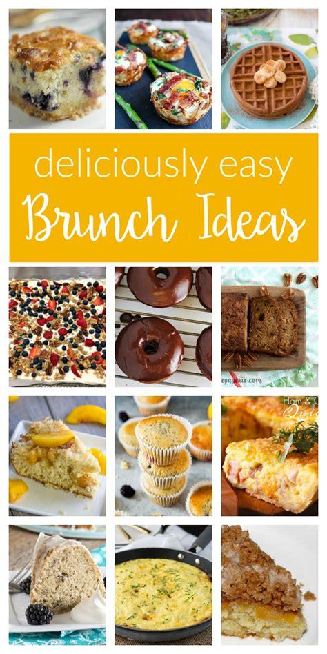 easy bridal shower brunch menu delicious brunch ideas merry monday 154 two purple
