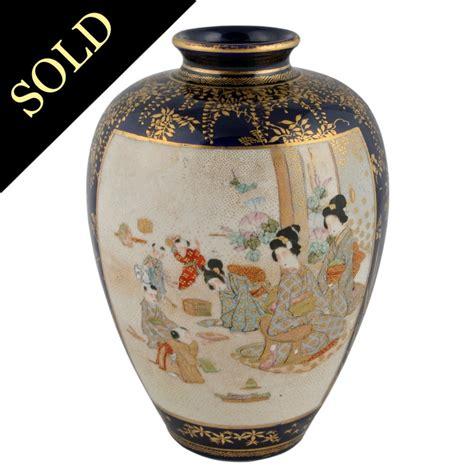 japanese satsuma vase antique japanese vase satsuma pottery vase