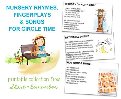 printable nursery rhymes printable songs fingerplays for toddlers myideasbedroom com