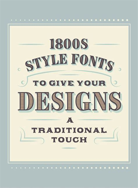 iconic  style fonts  give  designs