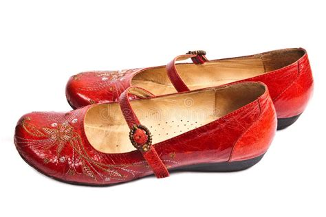 8 Gorgeous Pairs Of Shoes by Pair Of Embroided Shoes Stock Image Image Of