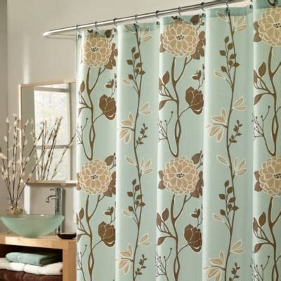 light blue and brown shower curtain blue and brown shower curtain curtain menzilperde net