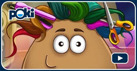 giochi di pou cucina pou giochi di capelli gioca gratis su poki it