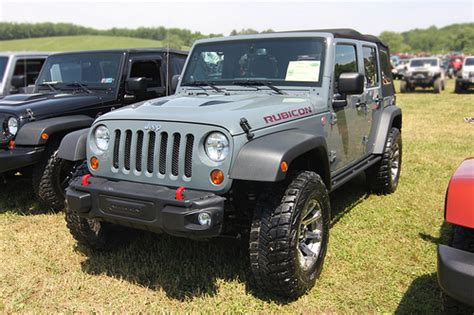 Jeep Rubicon Grey Grey Rubicon Flickr Photo