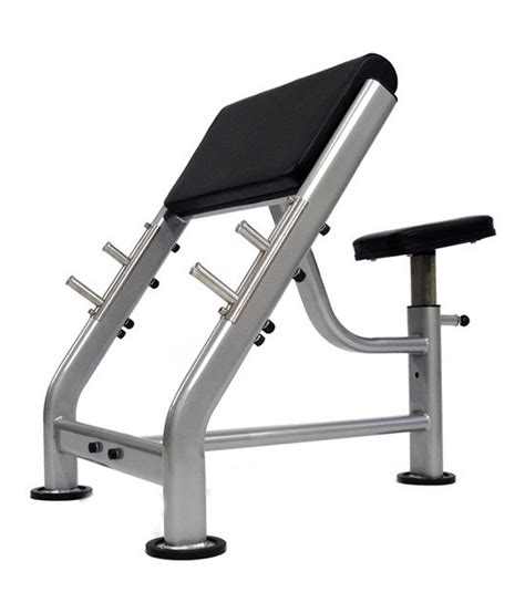buy preacher curl bench suhani exports preacher curl exercise bench in capsule