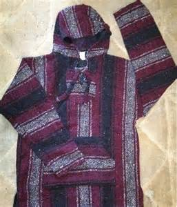 rug poncho mexican threads 187 rug baja hoodie mexican poncho maroon black white
