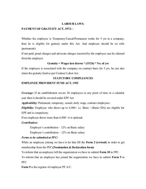 Employment Permanent Letter Rcruitment To Retirement