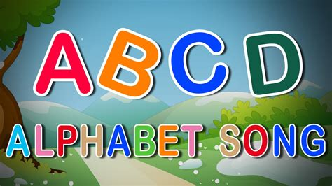 Letter Song the a to z alphabet song a is for ant song abc phonics