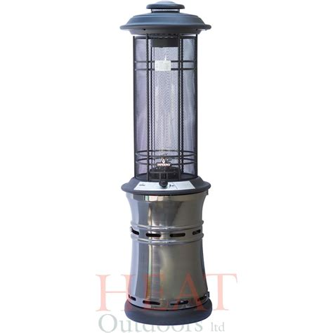 patio heaters santorini spiral gas patio heater heat outdoors