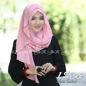 Jilbab Sifon Ceruti Tumpuk model jilbab bahan sifon ceruti terbaru syar i 2018 bundaku net