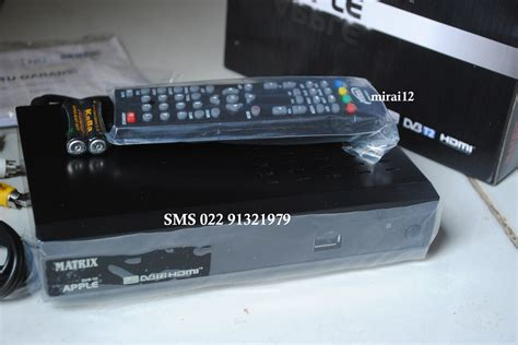 Harga Matrix Apple Dvb T2 matrix apple dvb t2 tv digital terestrial bandung