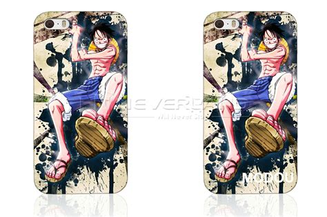 Luffy One Iphone 6 Plus Custom Flip Cover new anime one luffy picture pc cover for apple iphone 4 5 6 plus ebay