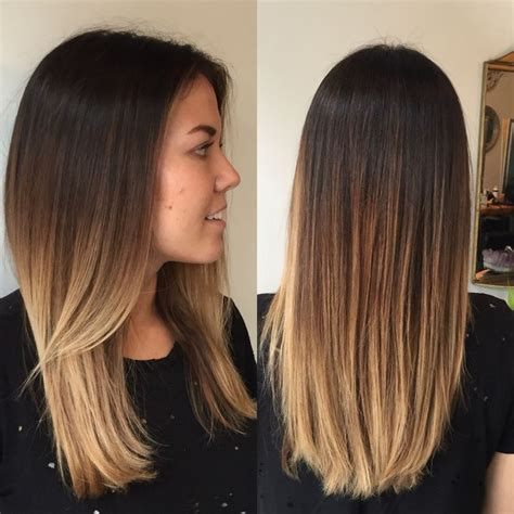 coloring over ombre hair 17 best ideas about light brown ombre hair on pinterest