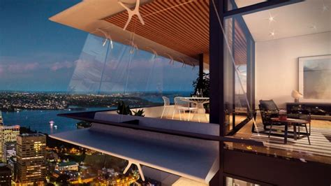 australia penthouse overlooking sydney on the market for buyers swoop on penthouses in australia s