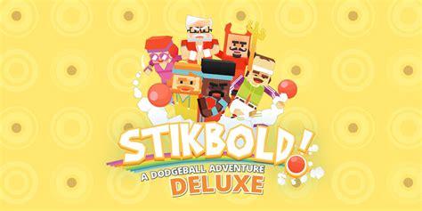 stikbold  dodgeball adventure deluxe nintendo switch  software games nintendo