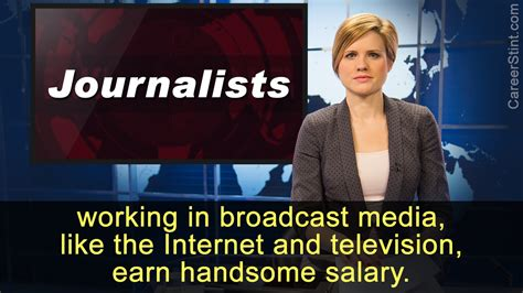 Journalist Salary by Journalist Salary Range