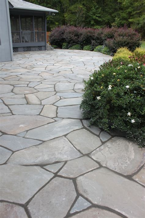 Bluestone Patio Designs Bluestone Patio Landscape Pinterest