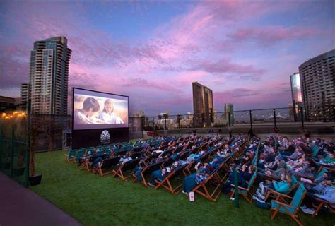 rooftop theater chain brings outdoor movies  houston