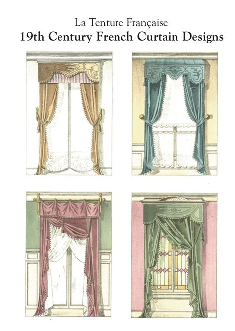 french curtain french country curtain ideas la tenture francaise 19th