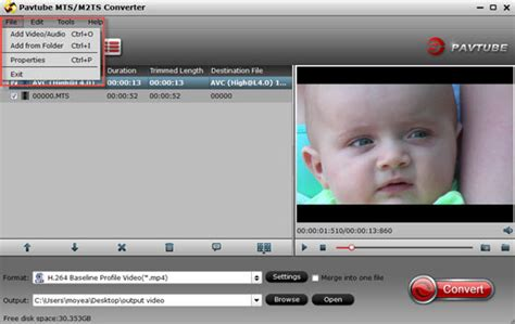 format video mts sony how to burn sony handycam mts files to standard dvd with