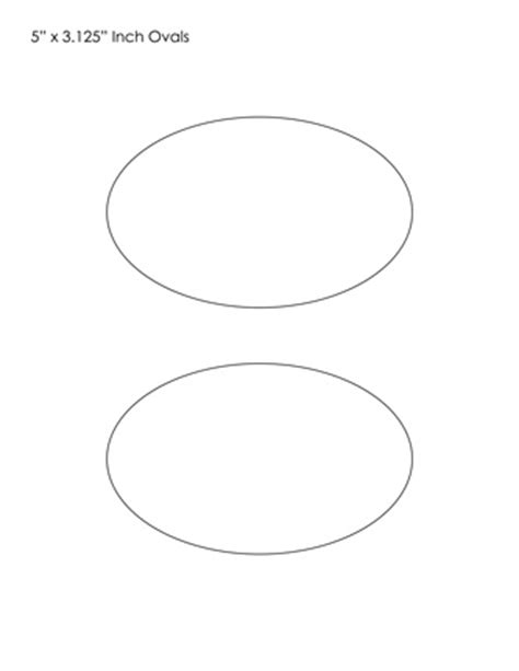 template for oval shape oval templates blank shape templates free printable pdf