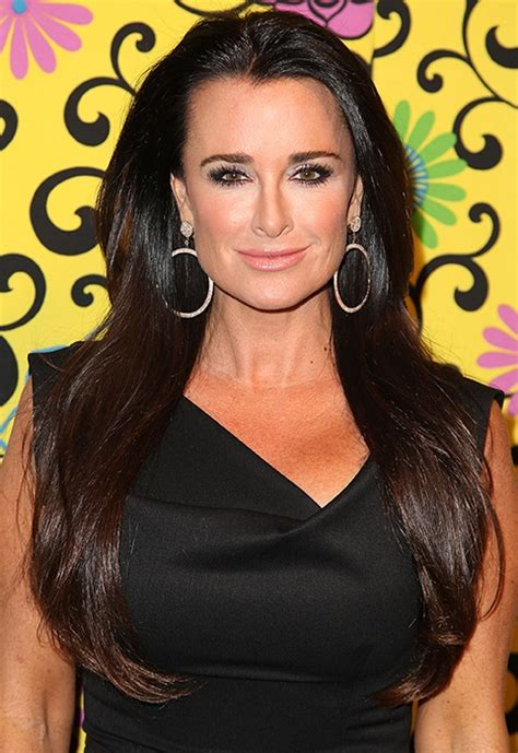 housewives of beverly hills hairstyles kyle richards beverly hills real housewives pinterest