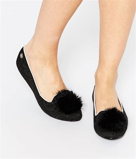 pomeranian slippers pom pom shoes wish list beth mac designs