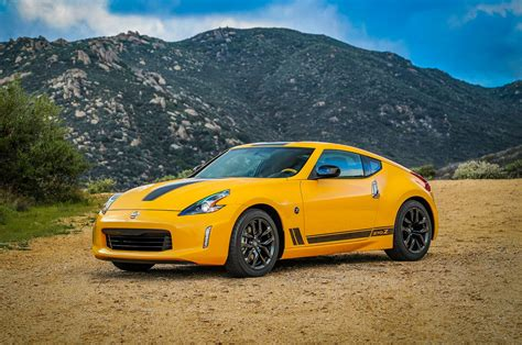 nissan 370z 2018 nissan 370z heritage edition keeps coupe alive