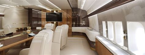 private boeing     customized vip interior