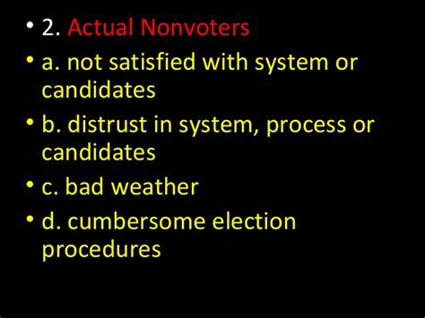 chapter 6 section 4 voter behavior quiz answers voter behavior chapter 6 section 4