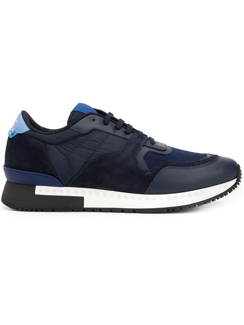 givenchy sneakers mens givenchy runner active sneakers in black for lyst