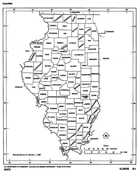 il county map illinois free map